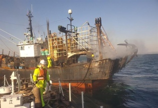 Cháy tàu cá tại Hàn Quốc, một thuyền viên người Việt thiệt mạng