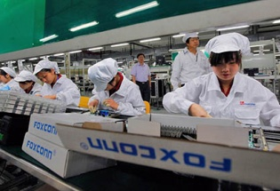 Foxconn mở nhà máy 40 triệu USD ở Quảng Ninh