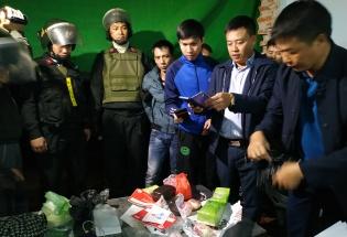 Thanh Hóa: CSCĐ bắt vụ vận chuyển ma túy lớn trong đêm