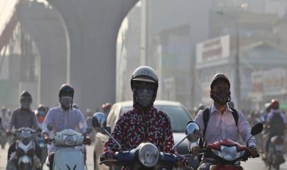 Chất lượng không khí tại Hà Nội chạm ngưỡng rất xấu