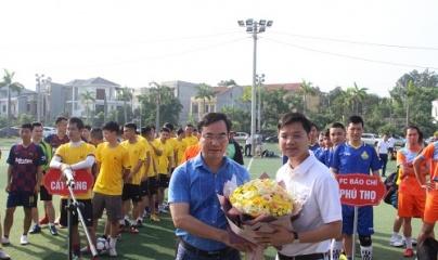Sôi nổi lễ Khai mạc giải bóng đá Cúp Hùng Vương lần thứ 1 năm 2019 tại Phú Thọ