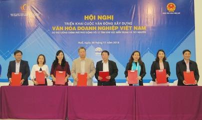 """""""Xây dựng văn hóa doanh nghiệp Việt Nam"""" tại 17 tỉnh miền Trung và Tây Nguyên"""