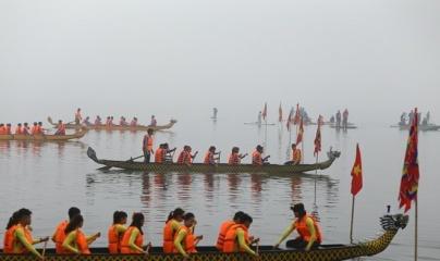 Gần 500 vận động viên sẽ tham gia đua thuyền rồng tại Hà Nội