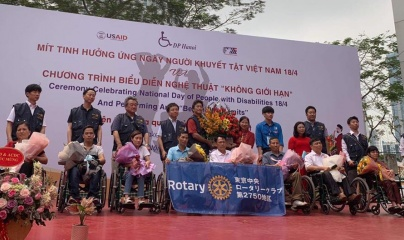 """Ngày Người khuyết tật Việt Nam: Ấn tượng chương trình nghệ thuật """"Không giới hạn"""""""