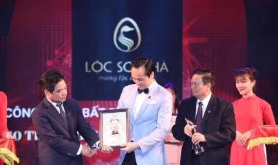 Lộc Sơn Hà Land được vinh danh Top 10 Thương hiệu uy tín, chất lượng năm 2018