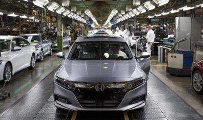 Honda giảm sâu số lượng sản xuất Accord và Civic