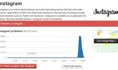 Instagram bị sập tại nhiều nước