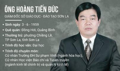 Cách tất cả chức vụ trong Đảng đối với Giám đốc Sở GD-ĐT Sơn La