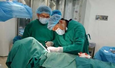 Cứu sống cụ ông 82 tuổi bị áp xe ruột thừa nguy hiểm tính mạng