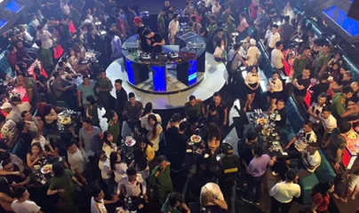 Hà Nội: Phát hiện 54 người dương tính với ma tuý trong bar Hey Club