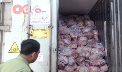 Đồng Nai: 40 tấn thịt làm giò chả bị nhiễm dịch tả lợn châu Phi