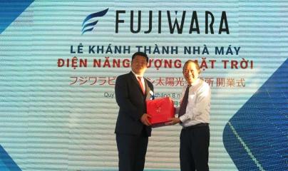 Khánh thành nhà máy điện mặt trời đầu tiên của Bình Định