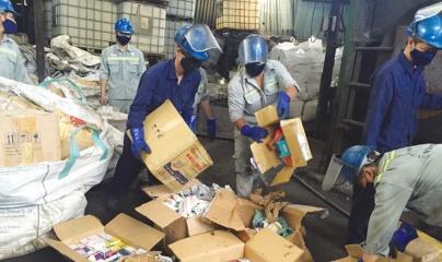 Quảng Ninh: Tiêu hủy gần 7.000 đồ chơi, mỹ phẩm nhập lậu