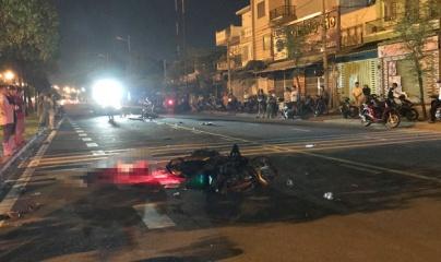 TP.HCM: Hai xe máy tông nhau, 3 người thương vong