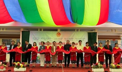 Lễ bàn giao Công trình Bể chứa nước và Nhà vệ sinh tại tỉnh Lạng Sơn
