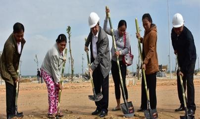 Khởi công xây dựng nhà cho 25 hộ nghèo khu vực I Kinh thành Huế