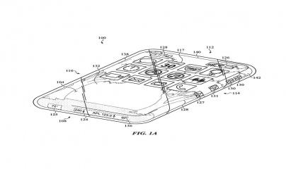 Apple sắp ra mắt mẫu iPhone với màn hình cảm ứng cuộn?