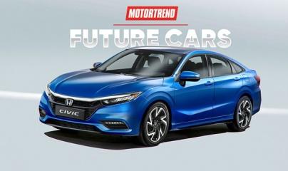 Honda Civic 2021 lộ diện với thiết kế hoàn toàn mới