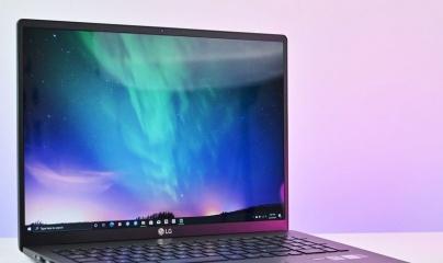 Laptop LG Gram 2020 siêu nhẹ với dung lượng pin 'cực khủng'