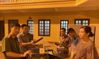 Thanh Hóa: Bắt giữ đối tượng buôn lậu 40 nghìn bao thuốc lá thương hiệu 555