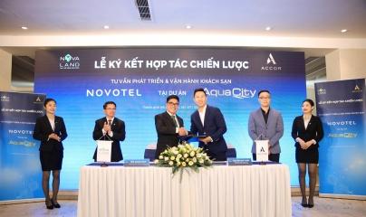 Novaland ký kết hợp tác cùng tập đoàn Accor vận hành khách sạn tại khu đô thị sinh thái Aqua City