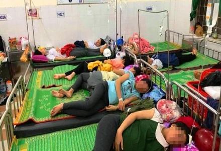 Bình Định: Hơn 150 công nhân nhập viện, nghi ngộ độc thực phẩm