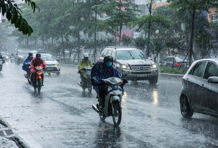 Dự báo thời tiết ngày 3/6: Cả nước có mưa dông vào chiều tối