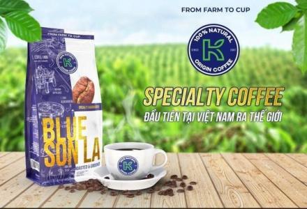 Lần đầu ra mắt cà phê Arabica mang thương hiệu Blue Sơn La