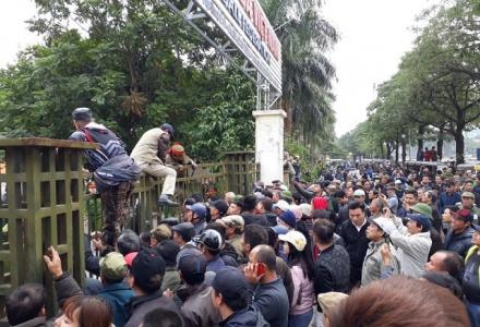 VFF đề nghị Bộ tư lệnh Thủ đô hỗ trợ ngăn chặn người gây rối