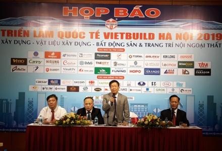 Hơn 400 DN tham gia Triển lãm Quốc tế Vietbuild Hà Nội 2019