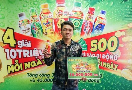 Trúng thưởng một lần là do may mắn, trúng thưởng nhiều lần thì uống Trà Dr Thanh