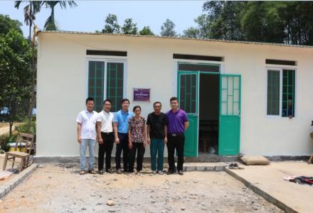 Căn nhà tình nghĩa số 2 tại Lào Cai: Nghĩa tình Dr Hoàng Tuấn