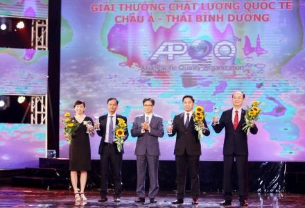 Trao Giải thưởng Chất lượng quốc gia và Giải thưởng quốc tế Chất lượng Châu Á-Thái Bình Dương