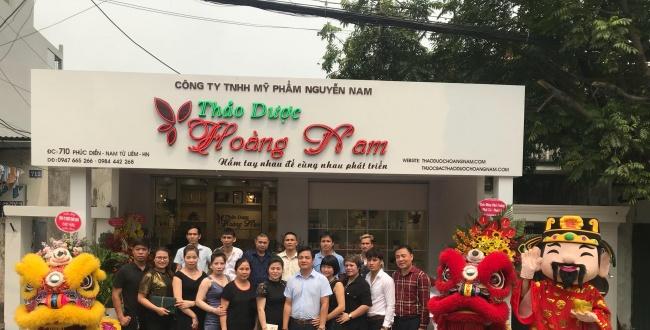 Công ty Dược Nguyễn Nam khai trương showroom tại Hà Nội