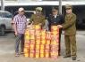 Nghệ An: Phát hiện xe đầu kéo chở pháo lậu