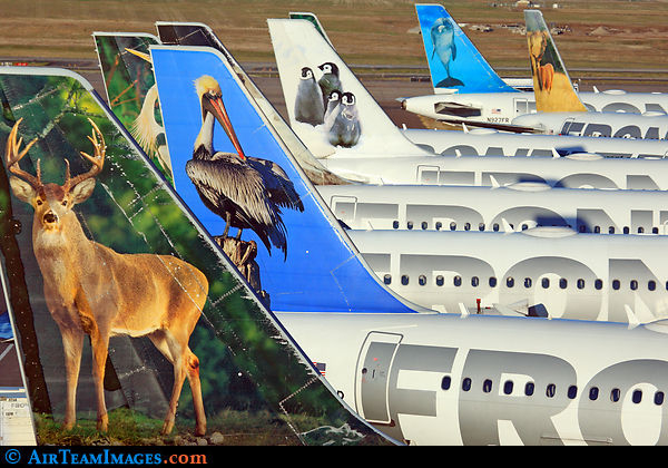 8. frontier airlines