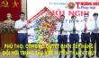 Phú Thọ: Công bố quyết định xếp hạng I đối với Trung tâm Y tế huyện Thanh Thủy