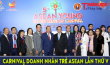 Chương trình Carnival Doanh nhân trẻ Asean lần thứ V diễn ra thành công tại Hà Nội