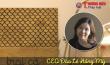 CEO Đào Lê Hồng Mỹ và thương hiệu 'Trại Cá' - Niềm đam mê từ thủa bé