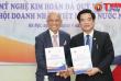 Lễ ký kết hợp tác toàn diện giữa Hội Mỹ nghệ Kim hoàn Đá quý VN (VGJA) và Hiệp hội doanh nhân VN ở nước ngoài (BAOOV)