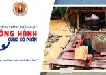 Chương trình nhân đạo 'Đồng hành cùng số phận' sẻ chia cùng bà con miền Trung