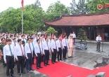 Lãnh đạo và nhân dân tỉnh Phú Thọ dâng hương tưởng nhớ công ơn các vị Vua Hùng