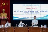 Bộ GD&ĐT họp báo sau kỳ thi tốt nghiệp THPT 'đặc biệt nhất lịch sử'