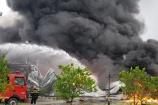 Bắc Ninh: Xưởng sơn 2.000 m2 tại KCN Yên Phong bốc cháy dữ dội