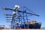 Cảng container quốc tế Tân Cảng Hải Phòng đón TEU thứ 500.000