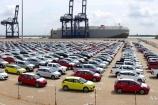 Lượng ô tô nhập khẩu nguyên chiếc tăng mạnh trong tháng 9