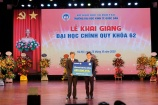 """Học bổng """"Bảo Việt - Niềm tin thắp sáng tương lai"""" đồng hành cùng sinh viên trường ĐH Kinh tế Quốc dân"""