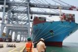 Tàu Margrethe Maersk lớn nhất thế giới cập cảng Cái Mép