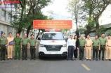 """An Giang: Mô hình """"Cấp cứu người bị tai nạn giao thông"""" tại huyện Tri Tôn được ra mắt"""