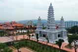 Cận cảnh nét kiến trúc Chùa Việt trên đỉnh Ba Đèo